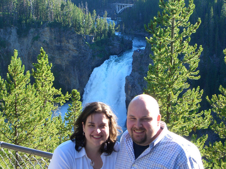 Bonnie and Dave at Yellowstone